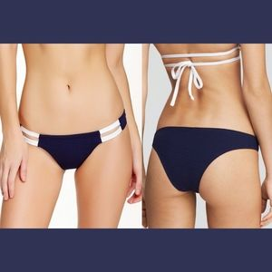 Vitamin A Swim - NEW Vitamin A Neutra Textured Hipster Bottom  M/8